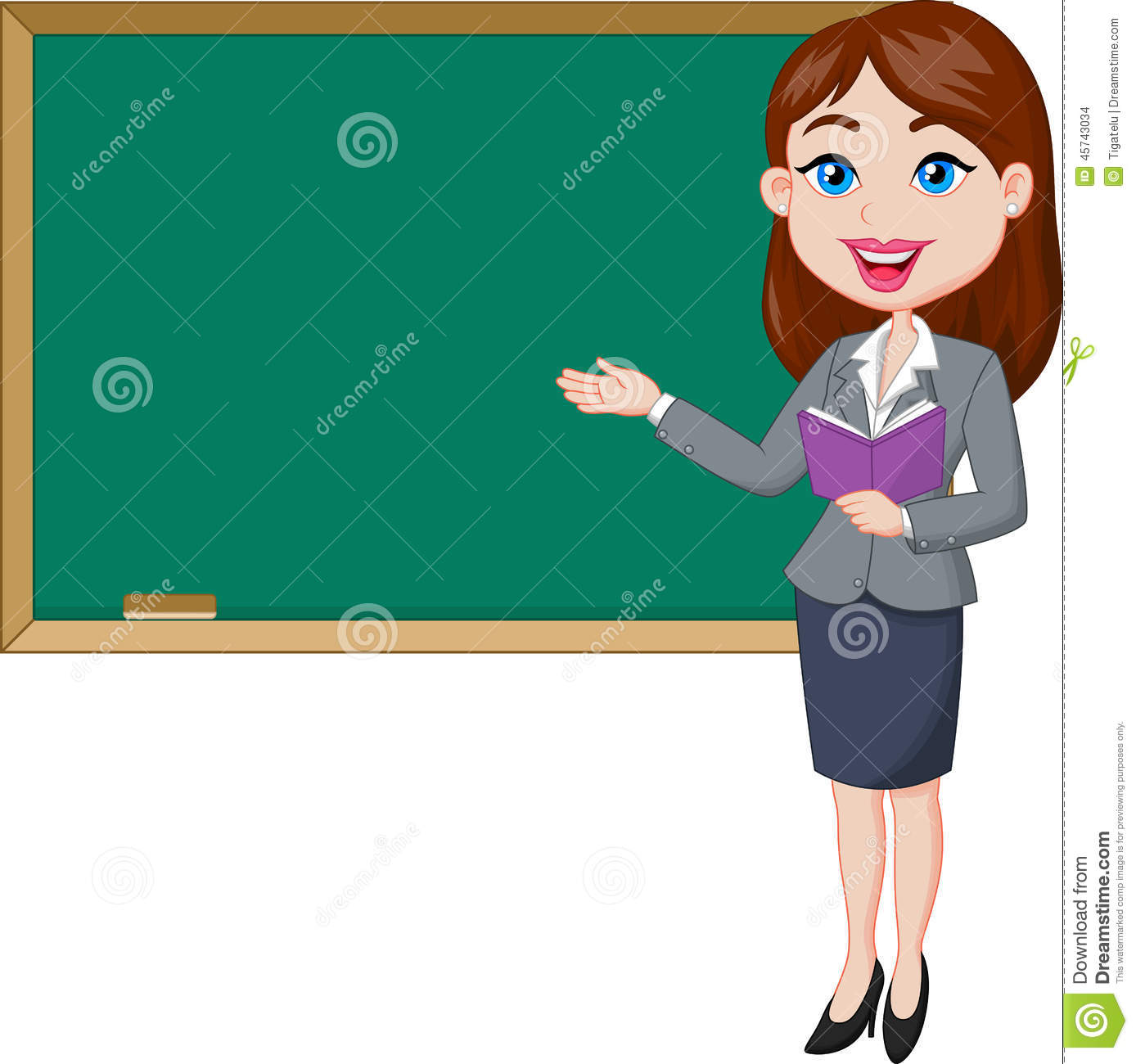 cartoon female teacher standing next to a blackboard stock big family clipart black and white big family clipart black and white