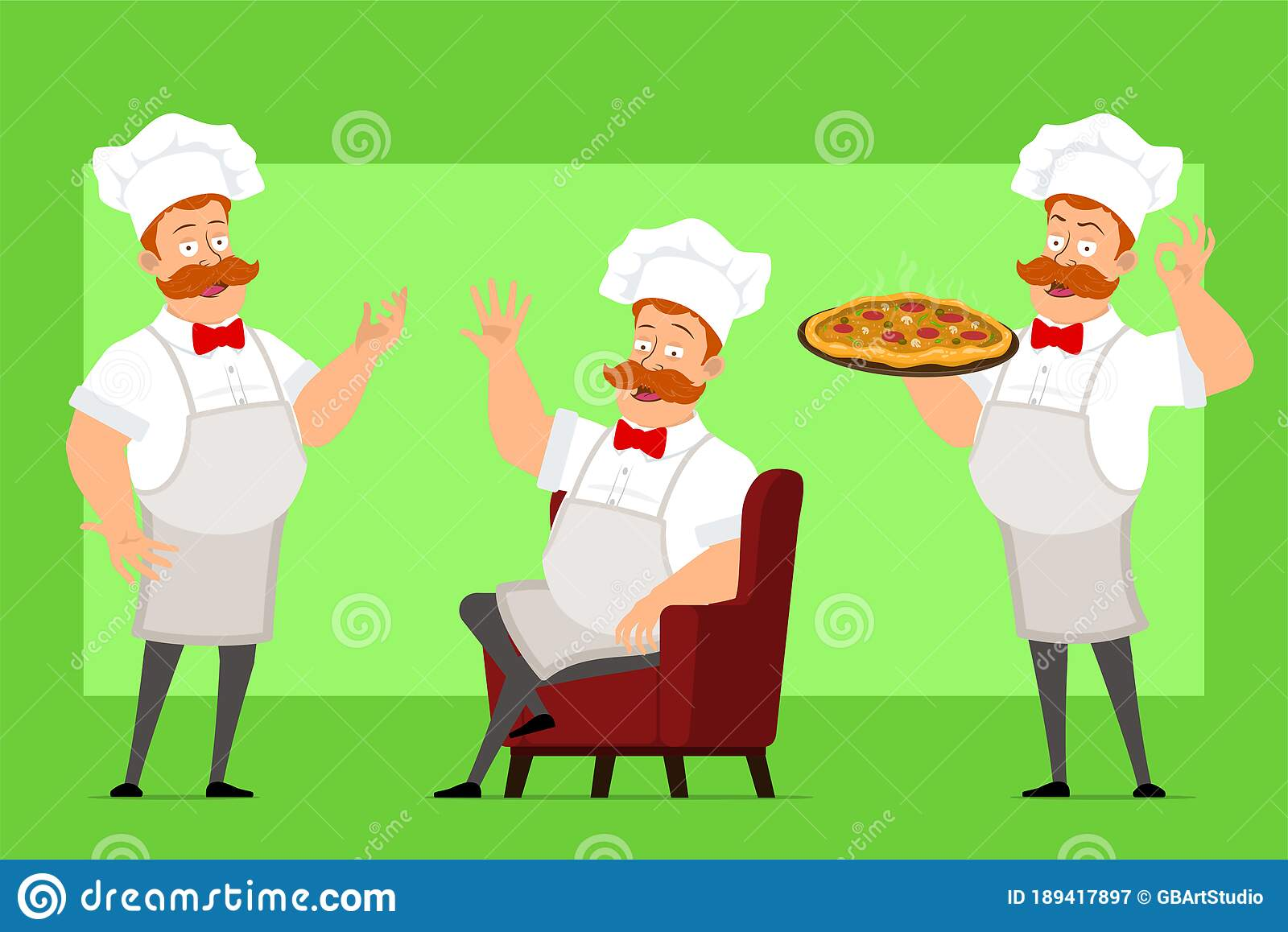 Fat Italian Chef Pizza Stock Illustrations 108 Vectors Clipart Dreamstime