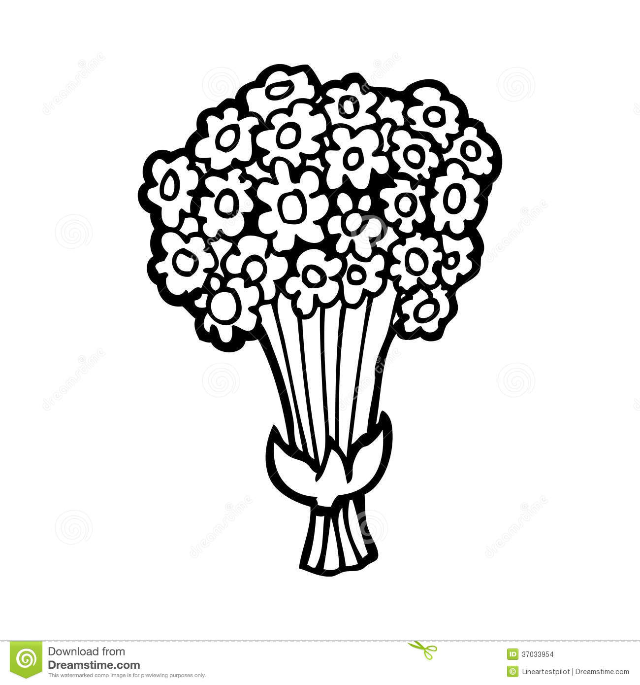 Download Cartoon Flowers Stock Illustration Of Crazy