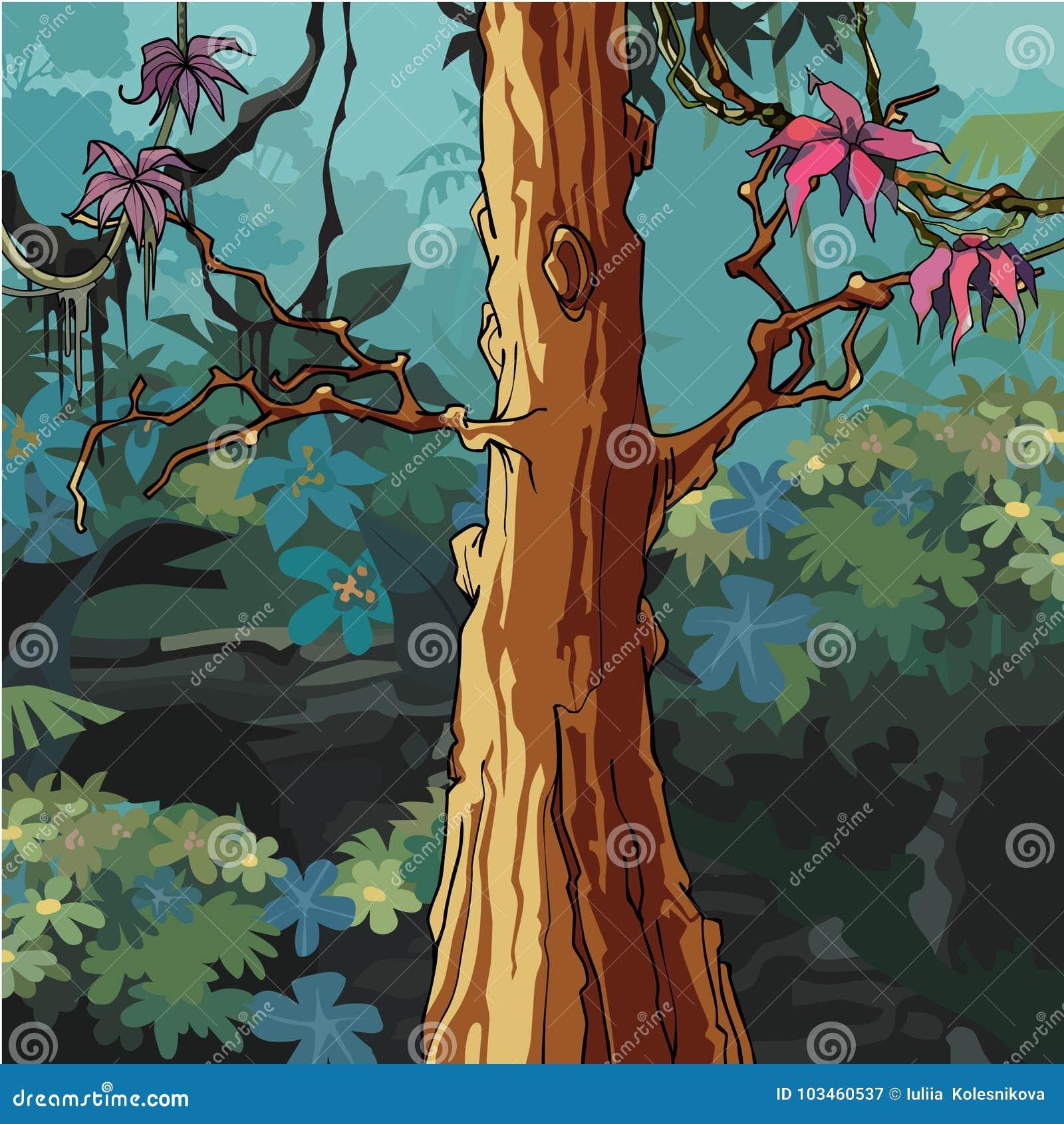Cartoon Big Tree Stock Illustrations 8 816 Cartoon Big Tree Stock Illustrations Vectors Clipart Dreamstime