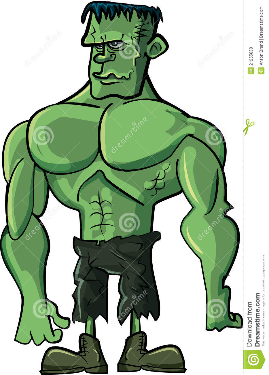 Cartoon Frankenstein Monster Stock Vector - Illustration ...