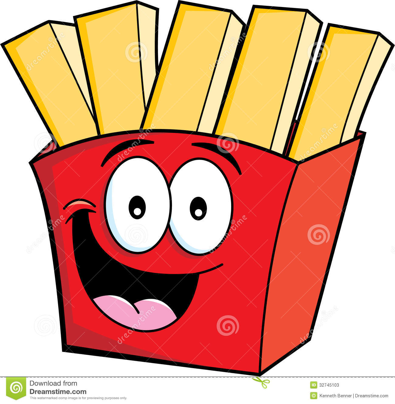 Animated french fries - photo#14