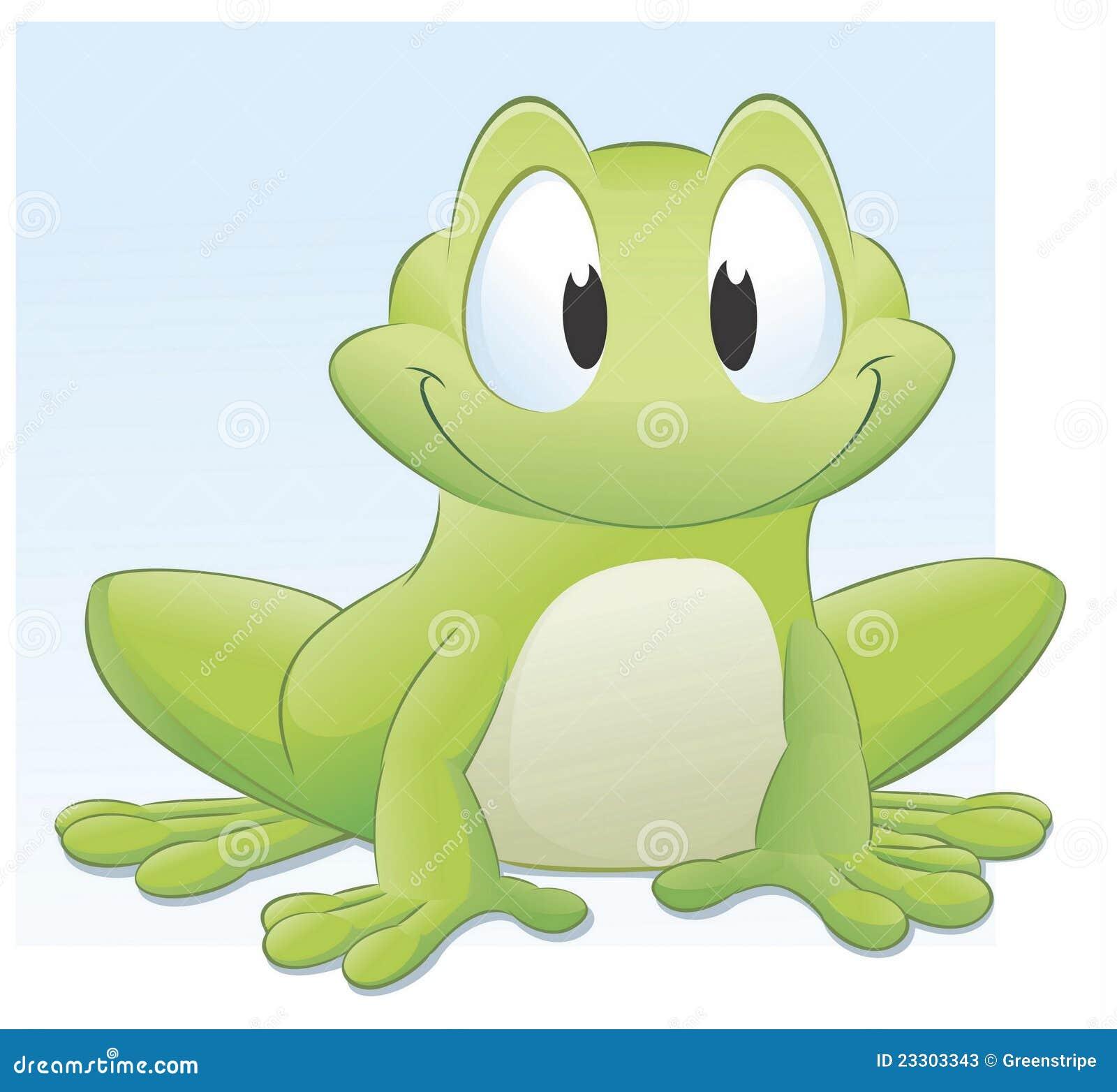 Cartoon Frog Stock Photos Image 23303343