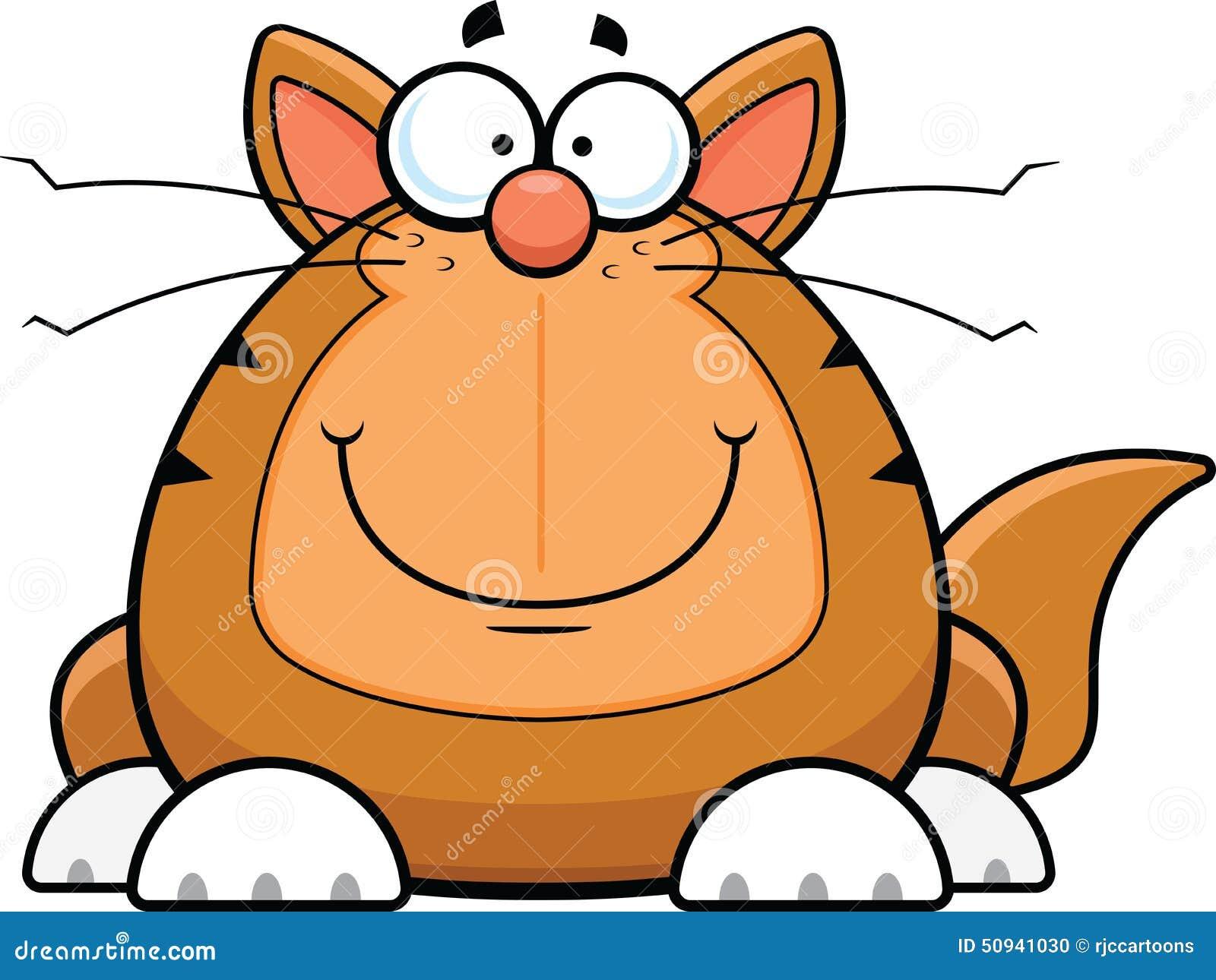 Cartoon Funny Cat Happy Stock Vector Image 50941030