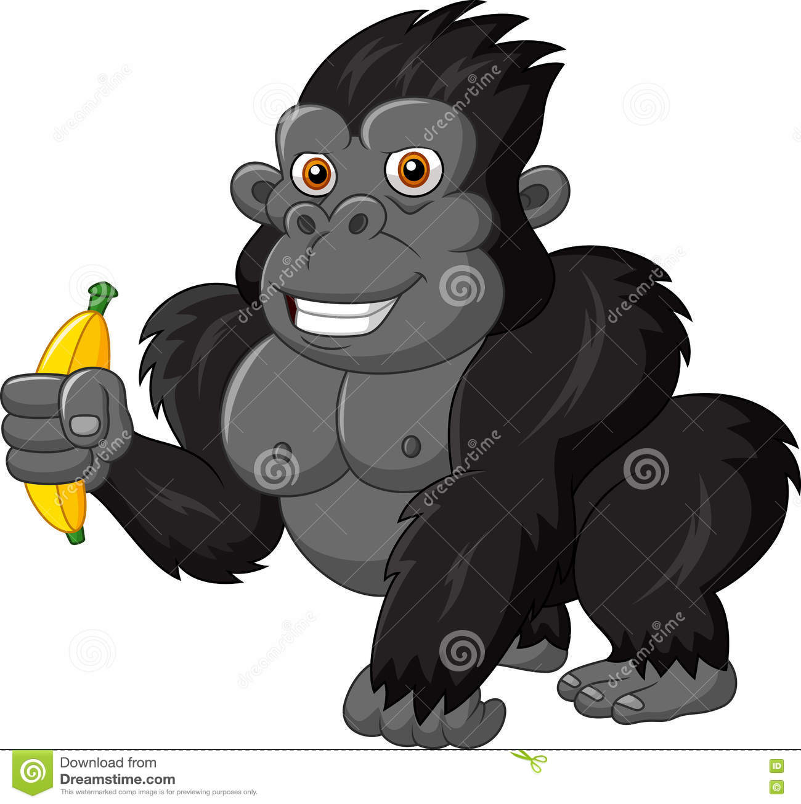 Funny naughty monkey