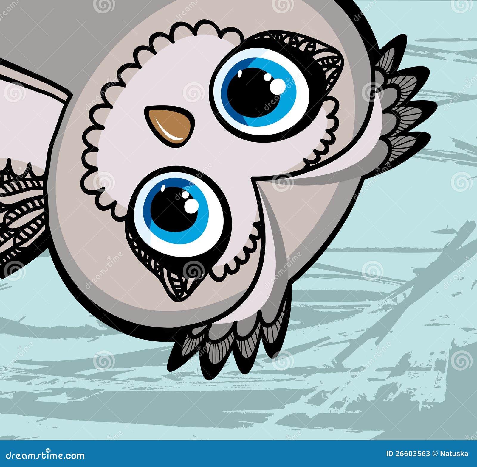 funny cartoon owls - photo #5