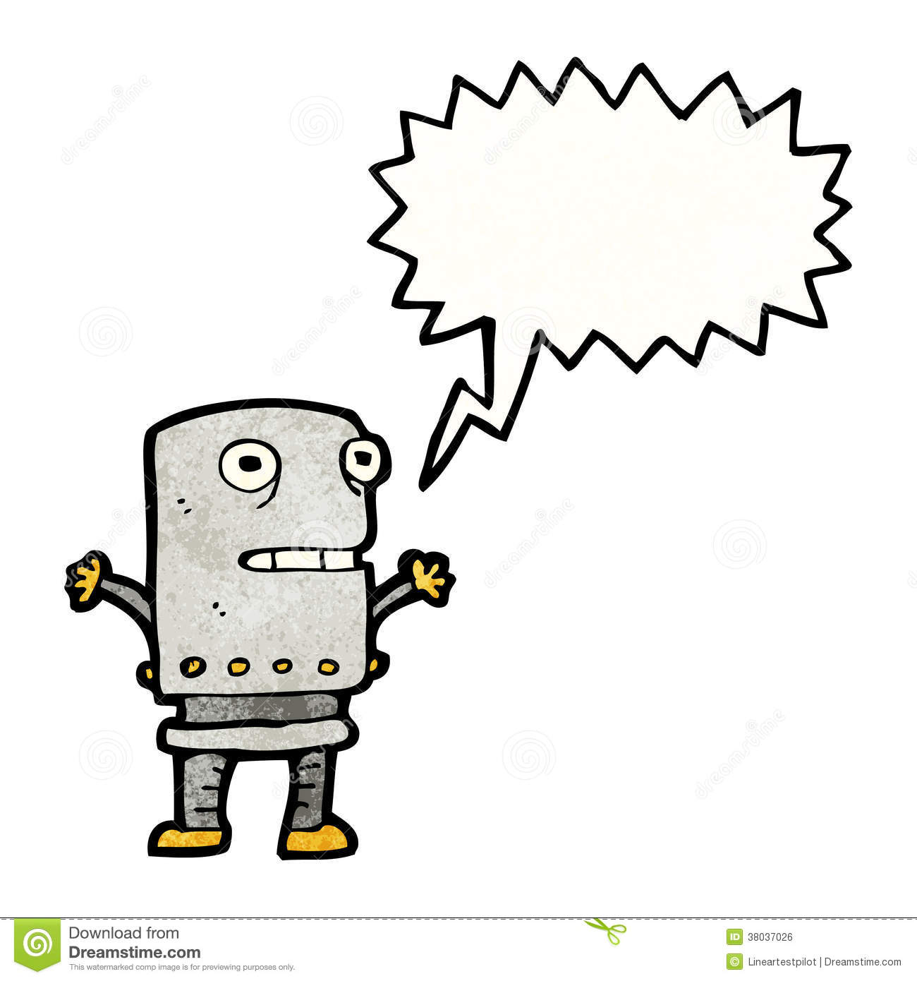 ... similar stock images of ` cartoon funny robot with speech bubble