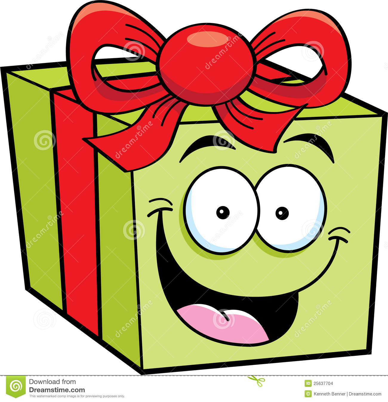 Cartoon Gift Stock Images - Image: 25637704
