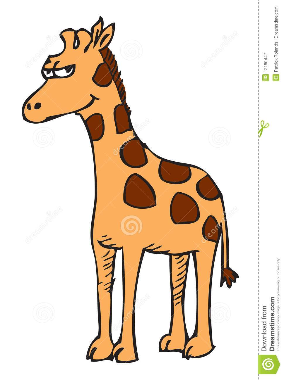 Cartoon Giraffe Royalty Free Stock Photography - Image ...
