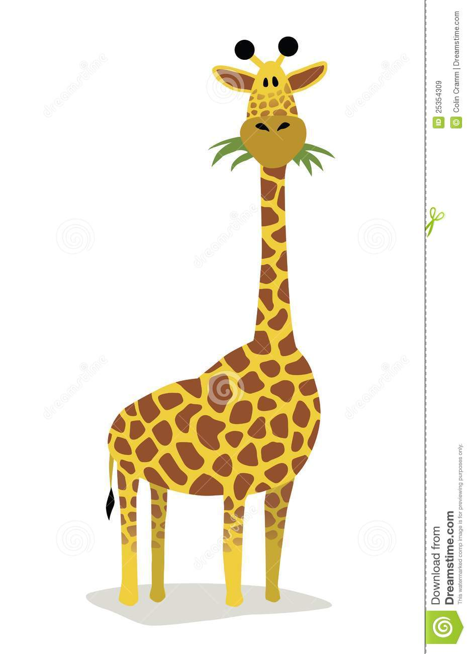 Cartoon Giraffe Royalty Free Stock Images - Image: 25354309