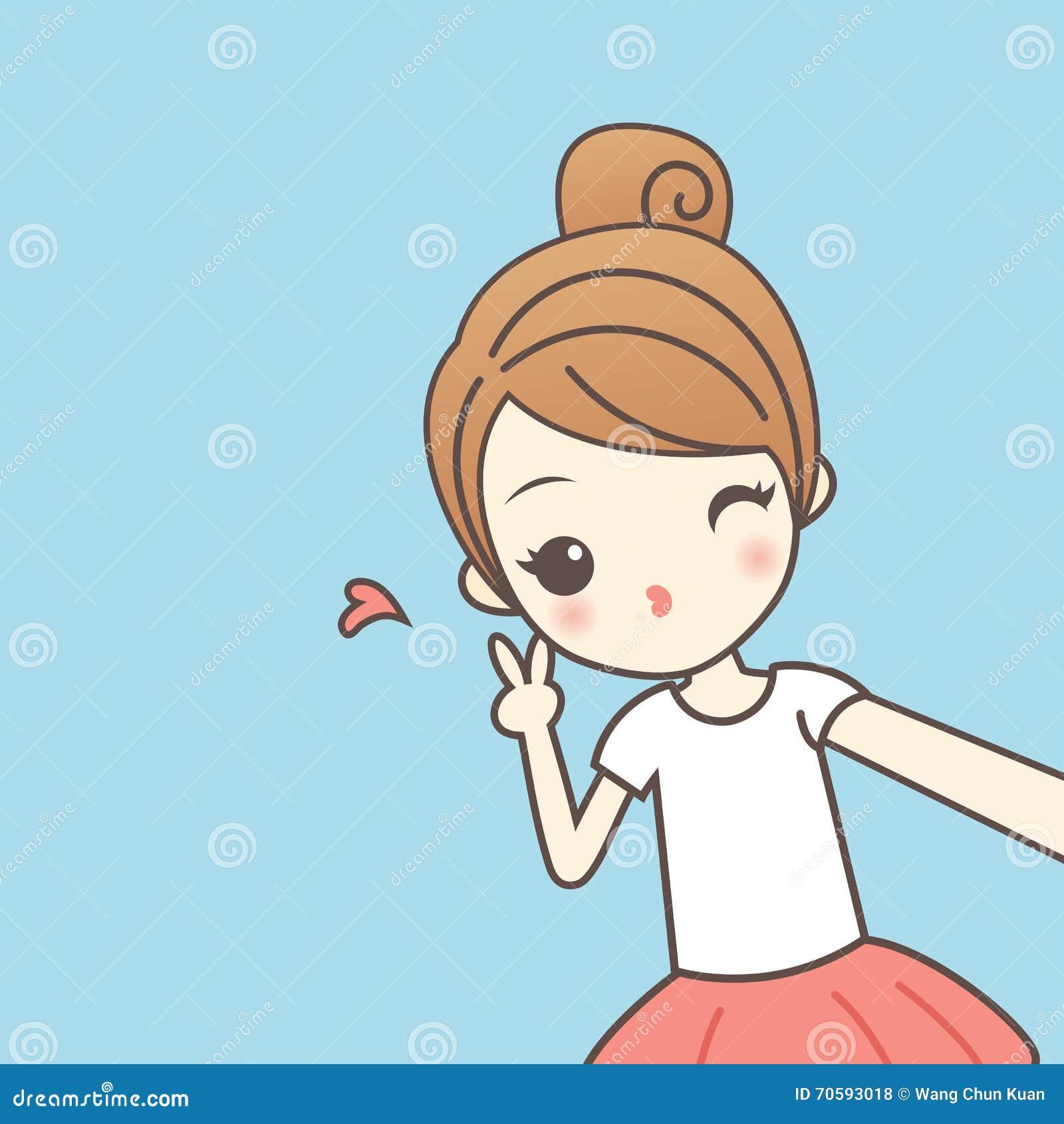 Girl on girl cartoons