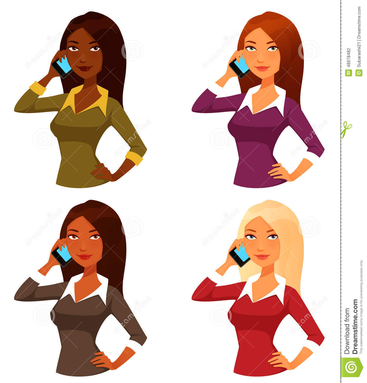 cartoon girls with mobile phone stock vector image 48978482 cyber bullying clipart cyberbullying clip art free