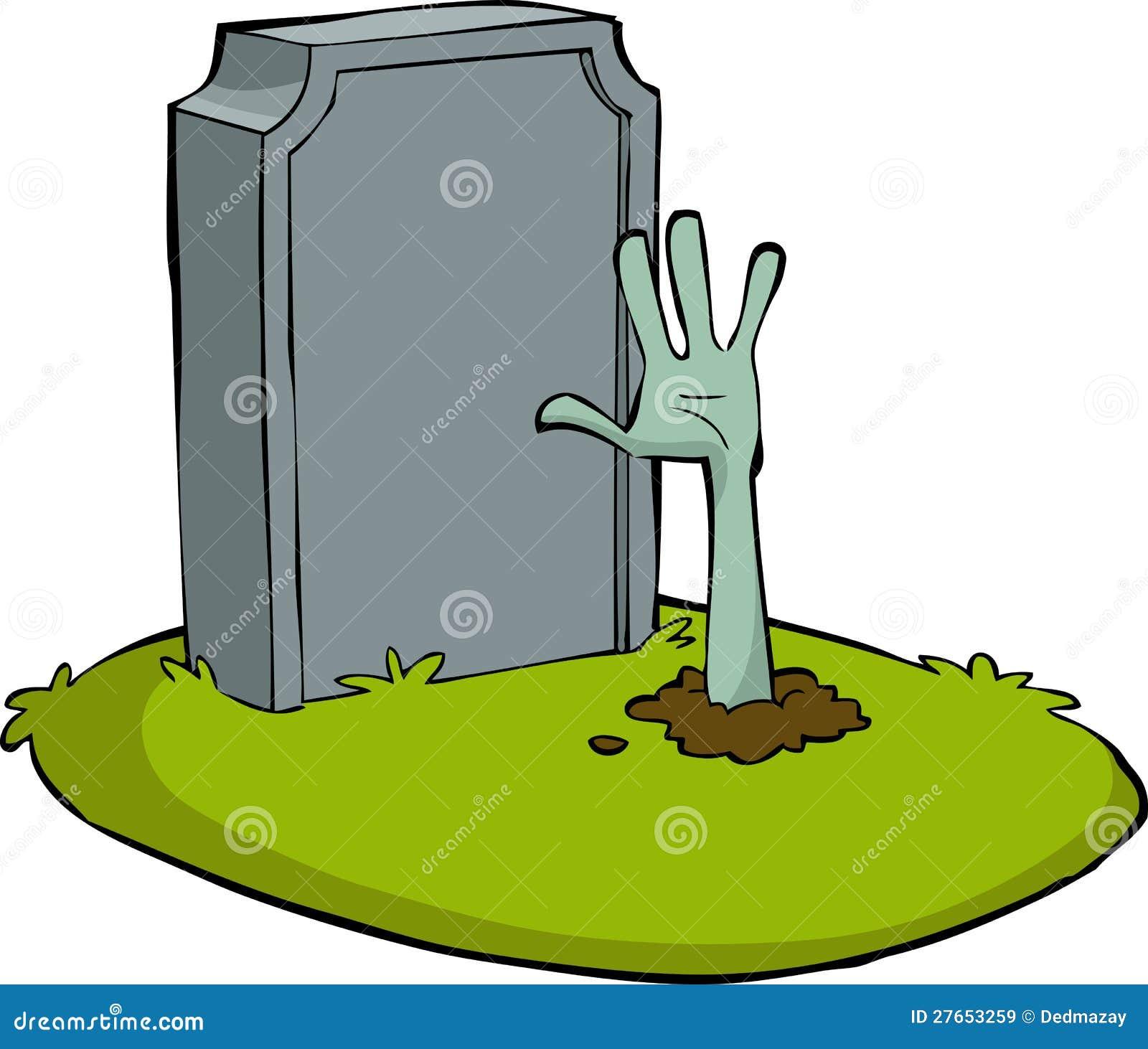 halloween tombstone vector