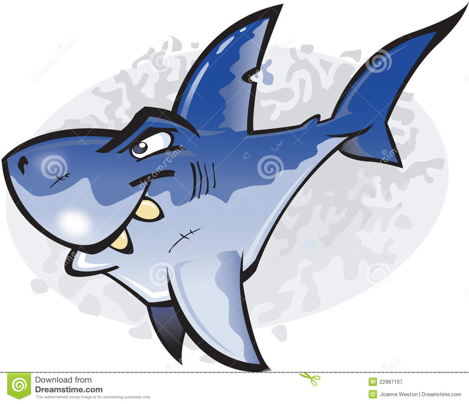 Warriors Sharks Live Stream Free: Great White Shark Cartoon Images