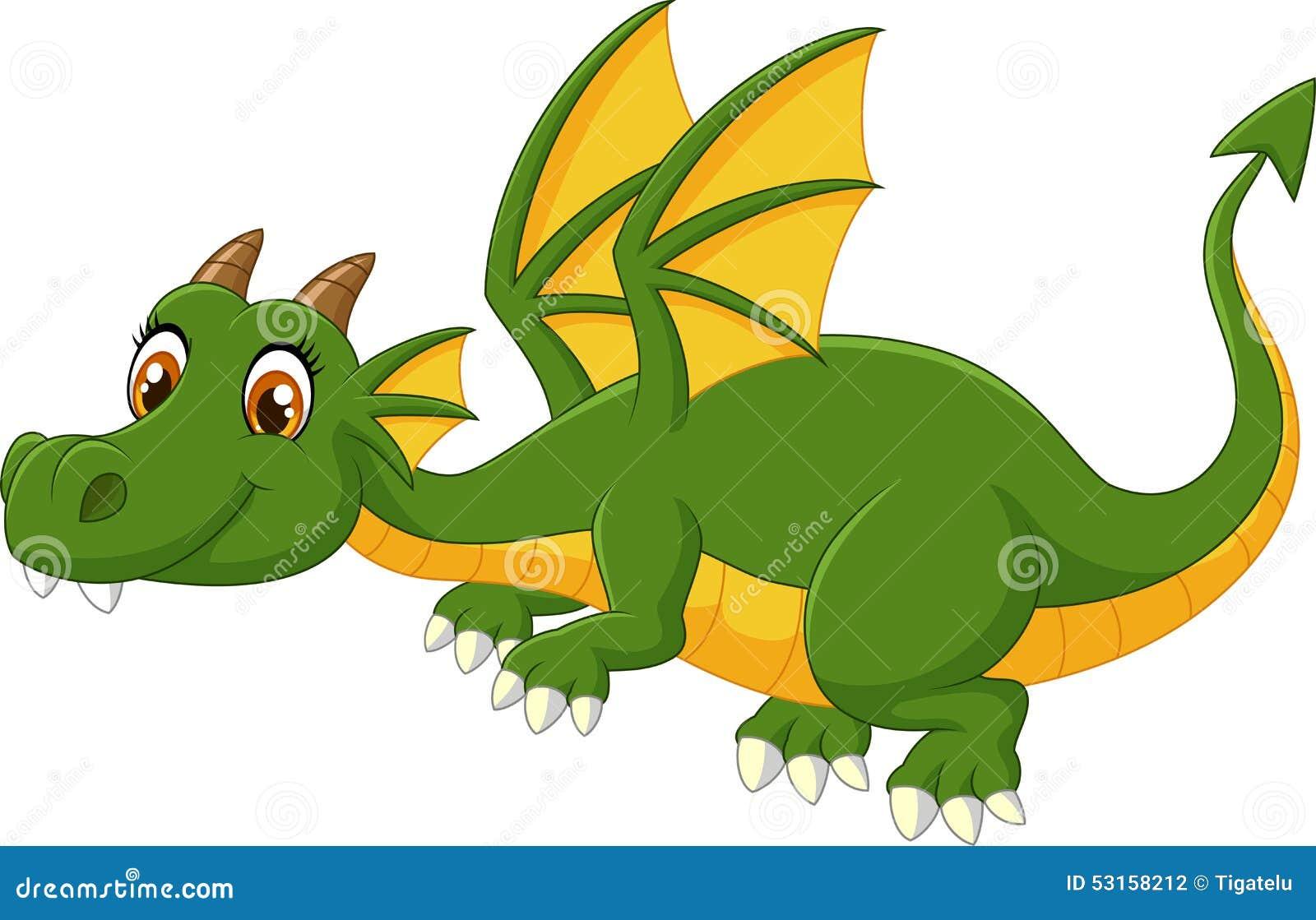 Рисунки с мультяшными драконами