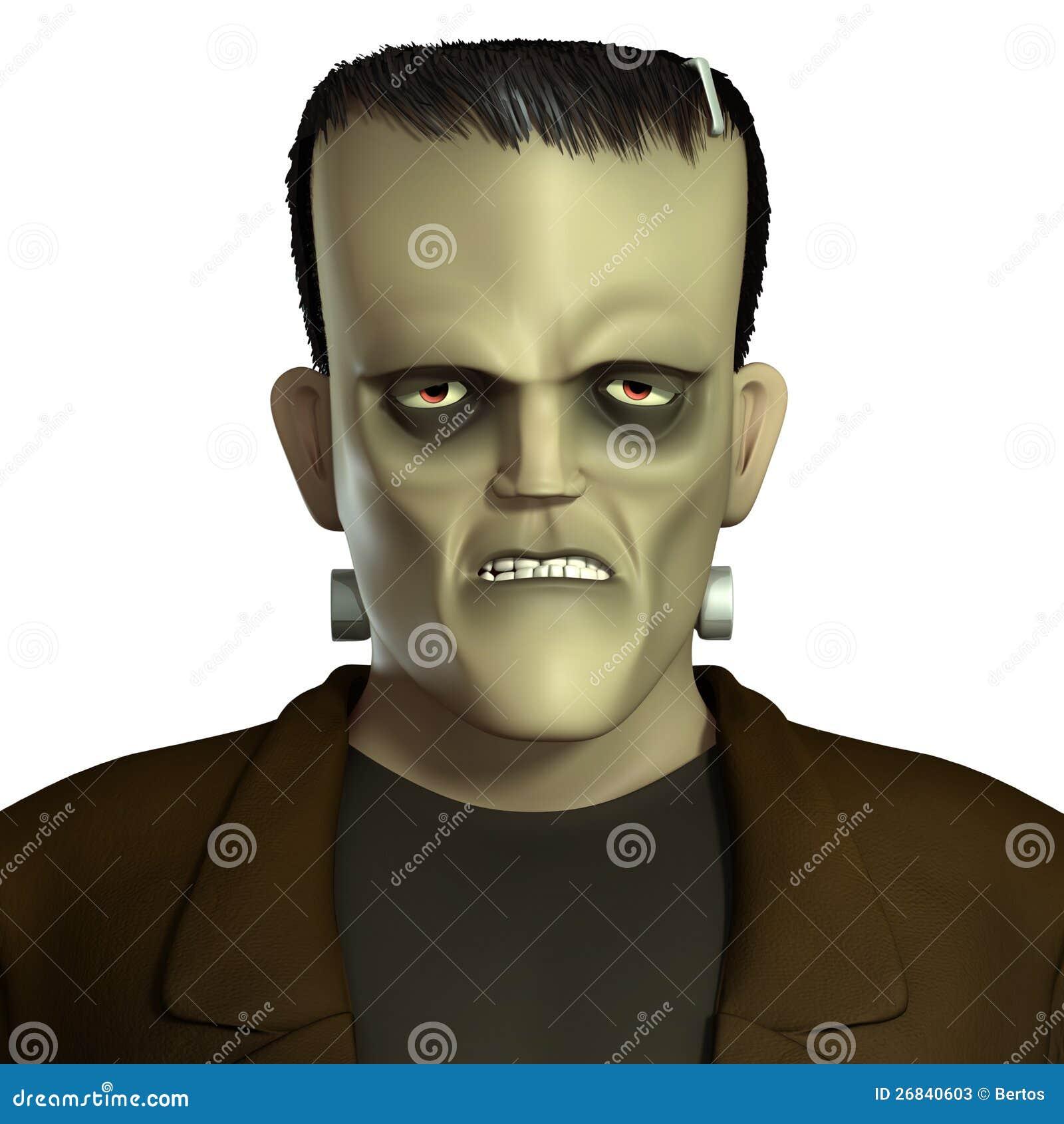 Zombie Face Clip Art