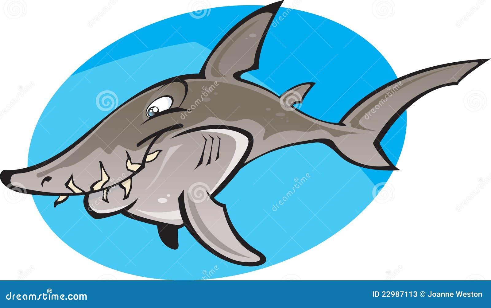 Nurse shark drawing