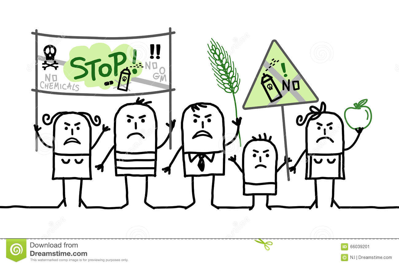 cartoon group of people protesting against toxic poison clipart black and white poison clipart free