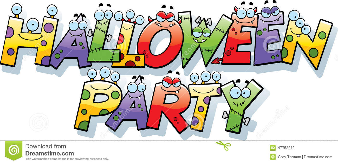 Halloween Party Clipart - schliferaward