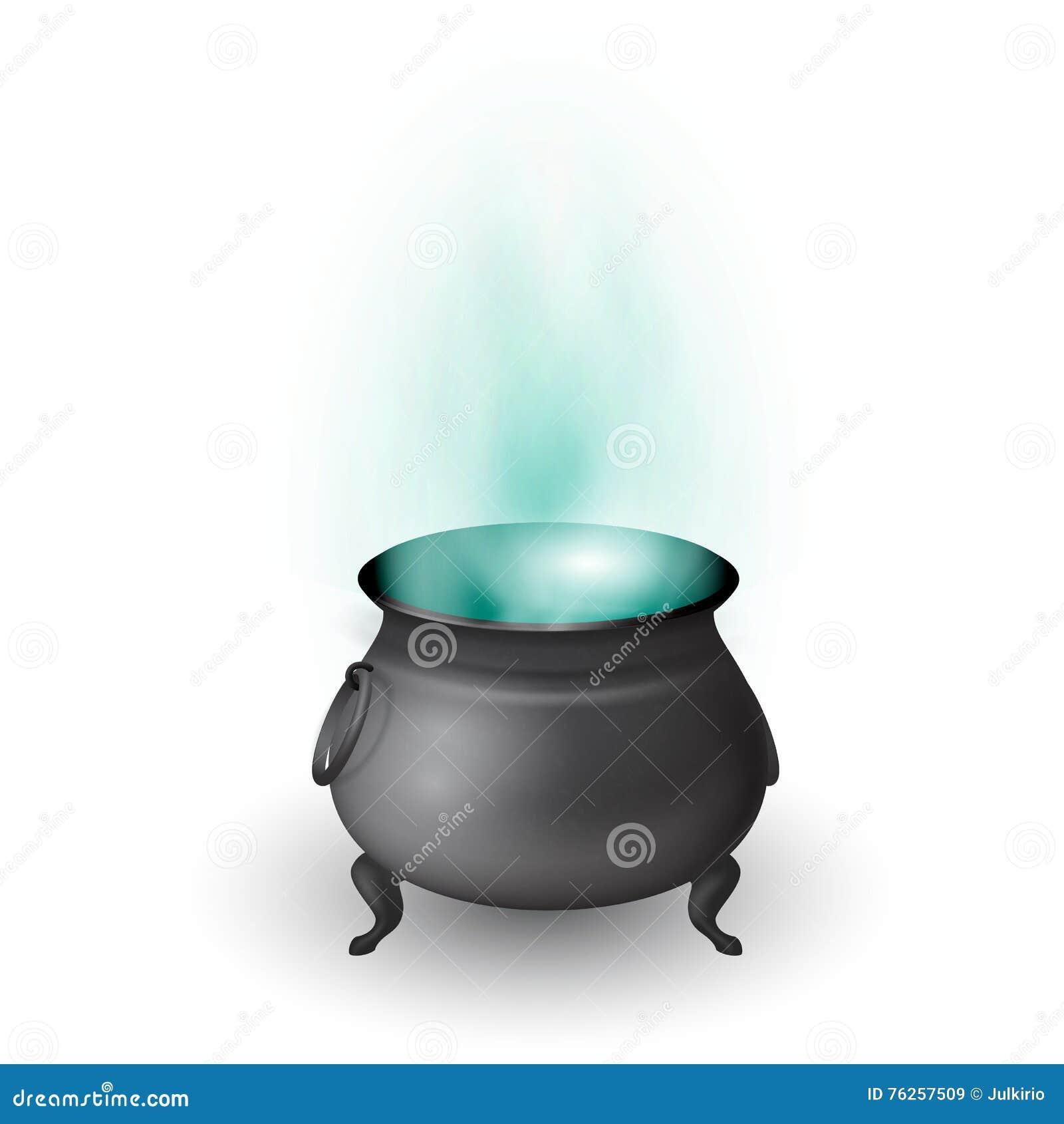 Halloween Witch Pot