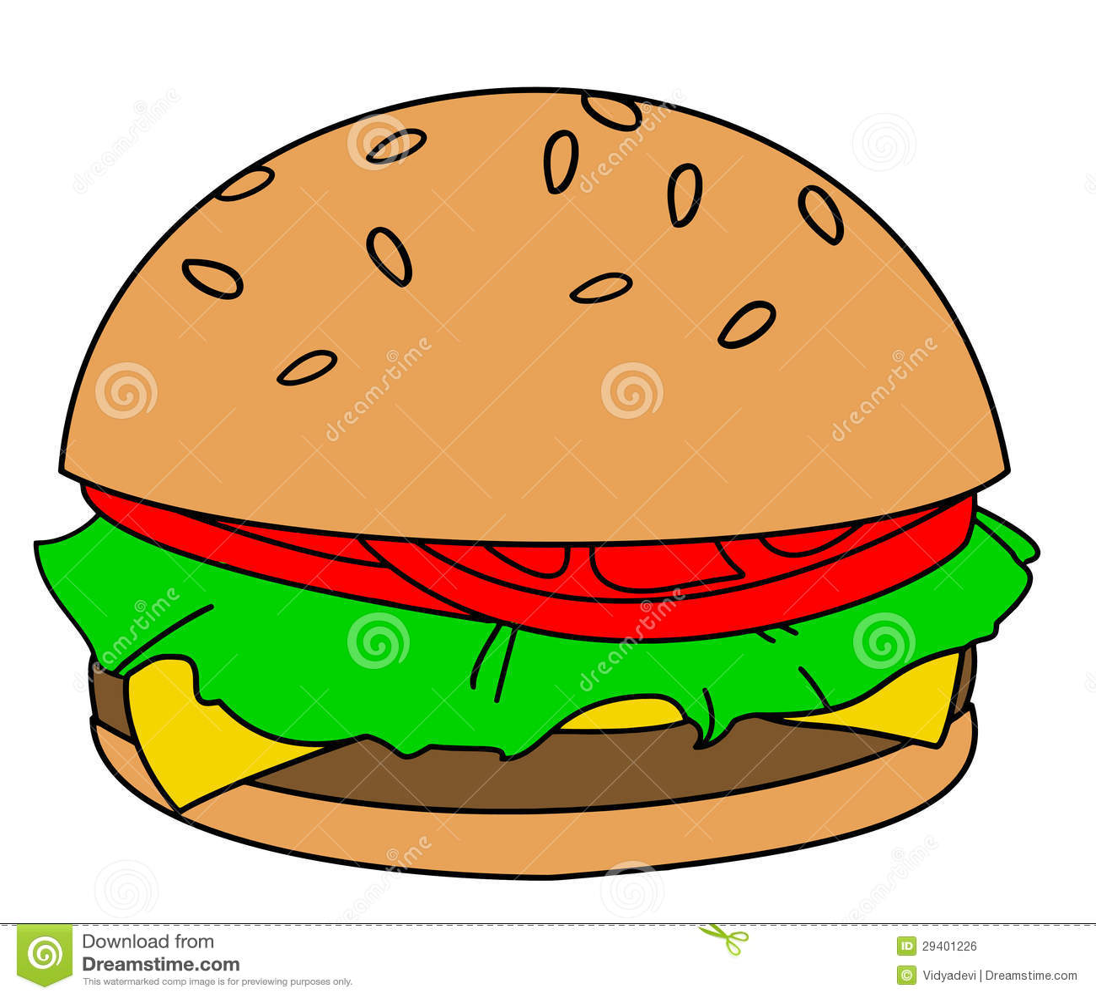 cartoon hamburger royalty free stock image image 29401226 free clipart elf hat free elf clipart images