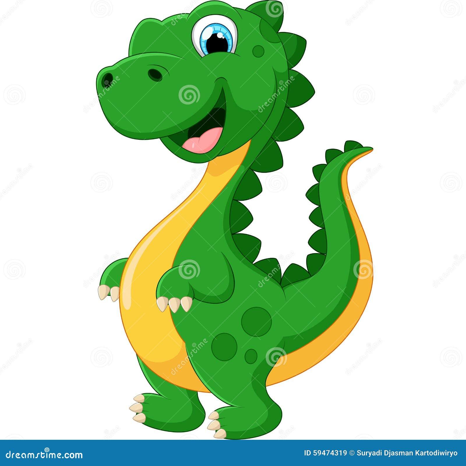 Cartoon Happy Dinosaur Stock Vector Image: 59474319 - 1300x1317 - jpeg