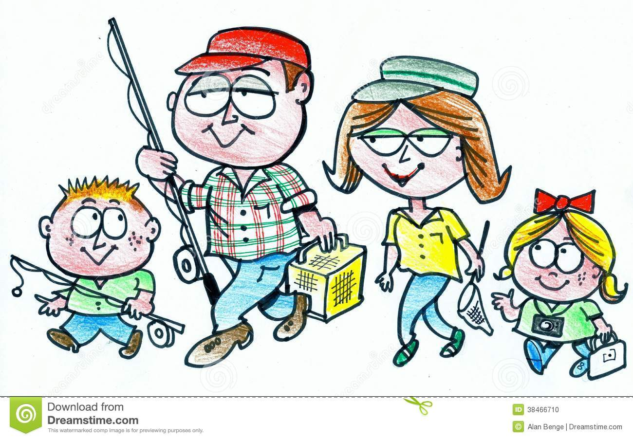 Family Fishing Cartoon | www.pixshark.com - Images ...