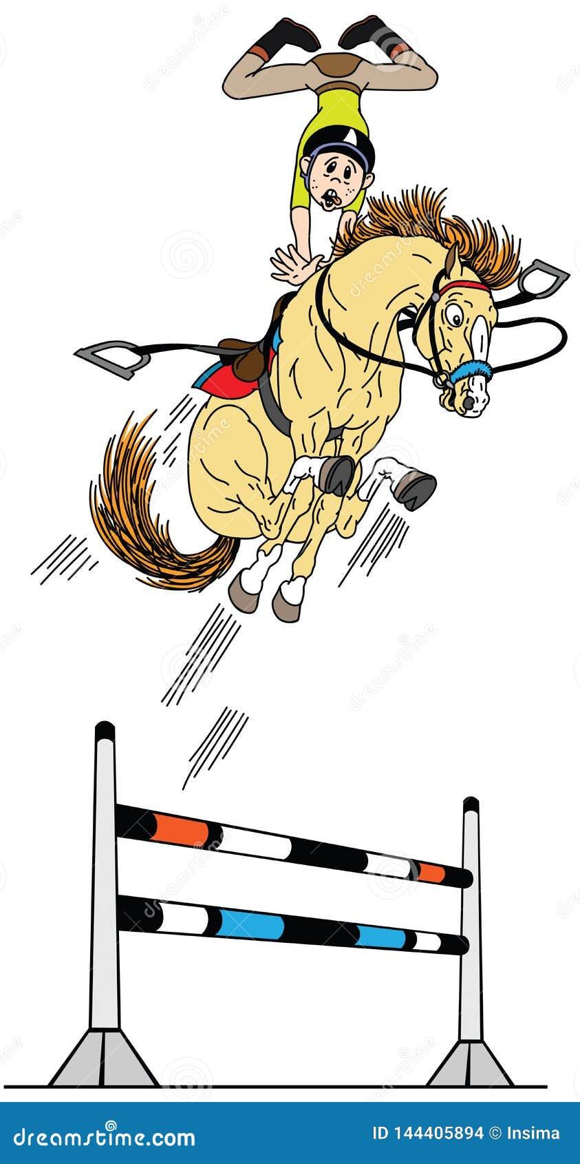 Horse Jump Stock Illustrations 4 290 Horse Jump Stock Illustrations Vectors Clipart Dreamstime
