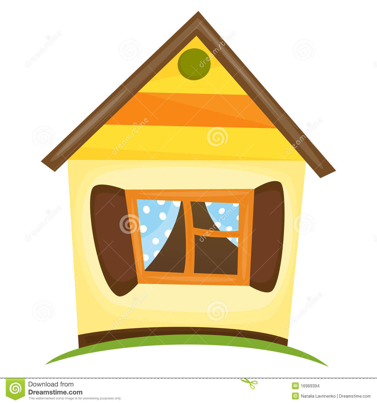 Cartoon Home Stock Images Image 16969394