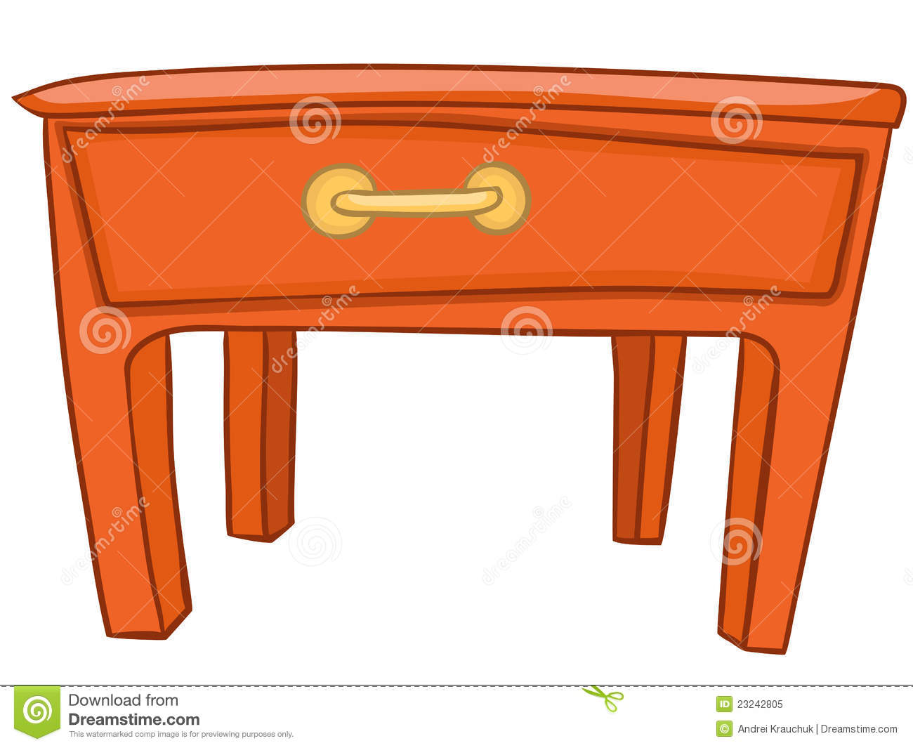 Cartoon kitchen table - Royalty Free Stock Image Kitchen Table Image20699846 Jpg 1300x1065 Cartoon Home Kitchen Furniture