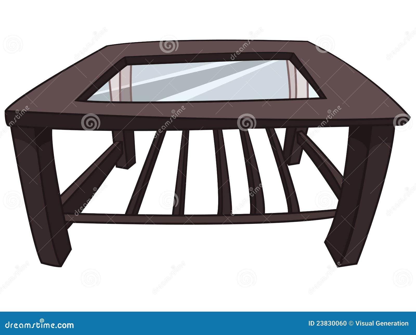 Cartoon Home Furniture Table Stock Photo Image 23830060
