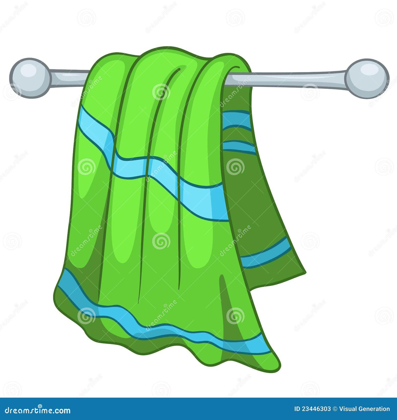 Cartoon Home Kitchen Towel Stock Photos - Image: 23446303