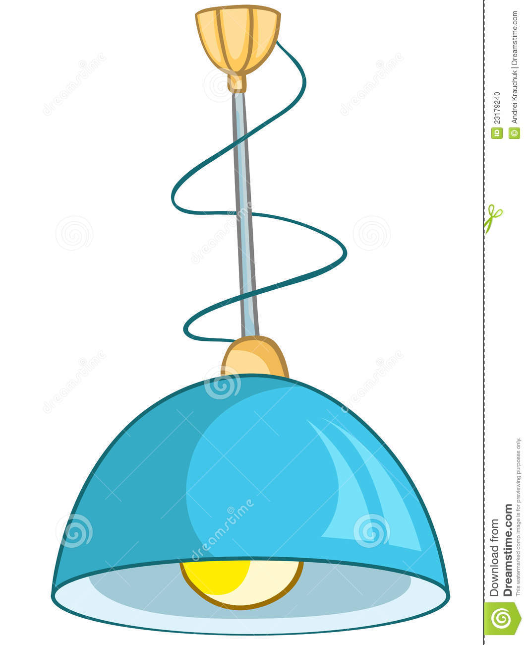 Cartoon Home Lamp Stoc...