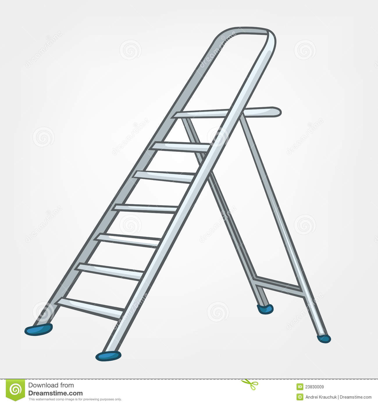 Cartoon Home Miscellaneous Ladder