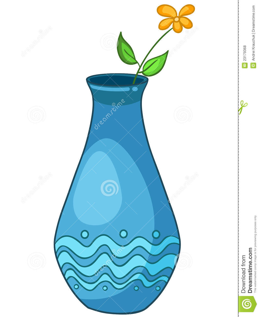 Cartoon home vase royalty free stock photos image 23179368