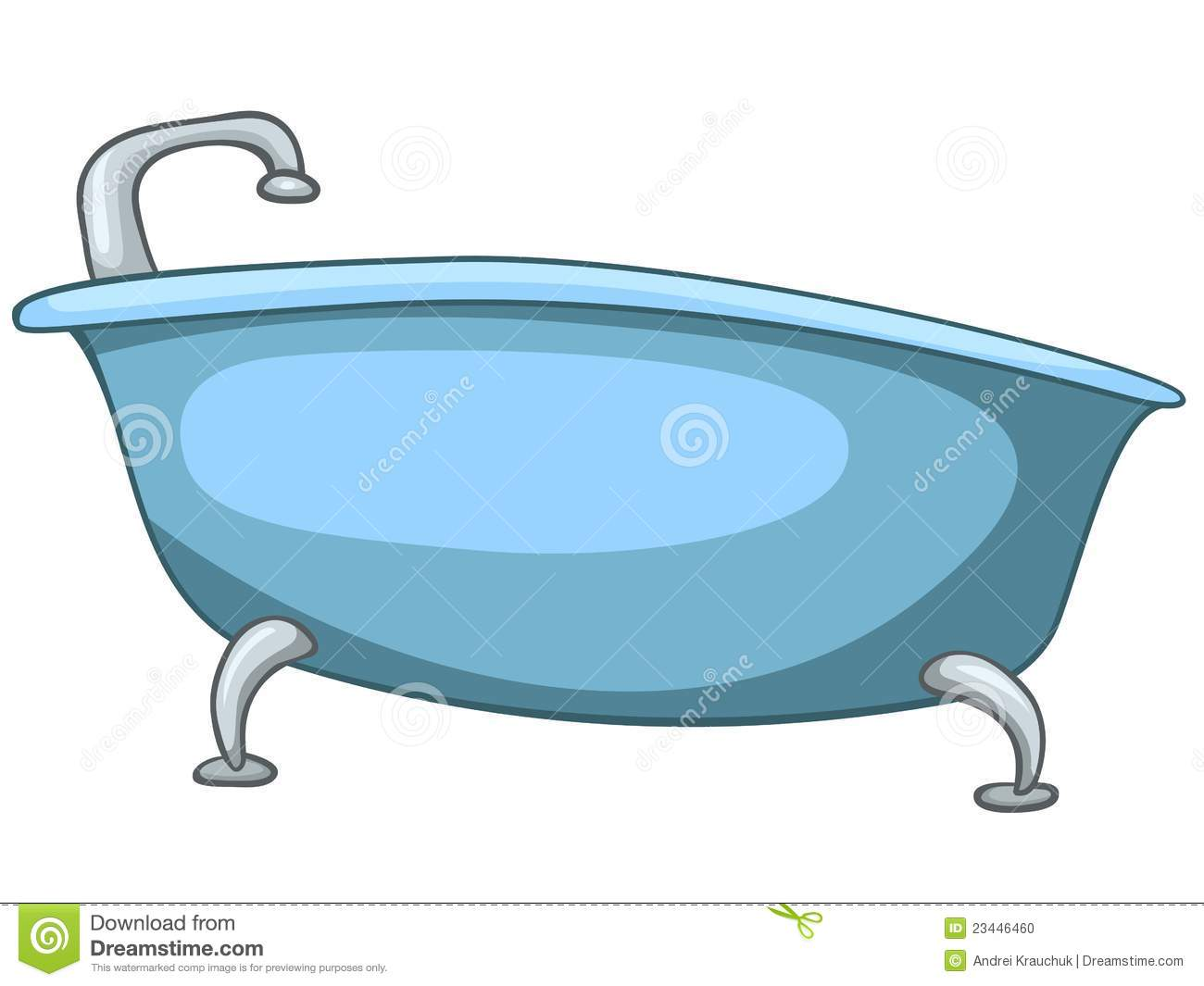 Cartoon Home Washroom Tub Stock Photo Image 23446460
