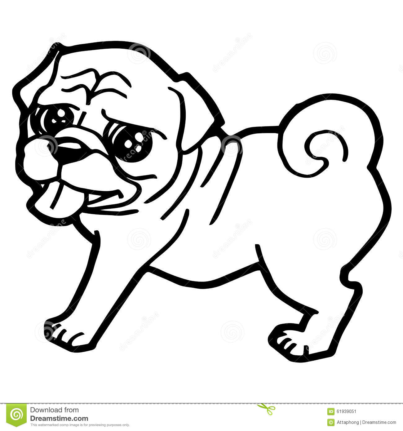flea coloring page - coloring pictures of cartoon dogs cartoon illustration of