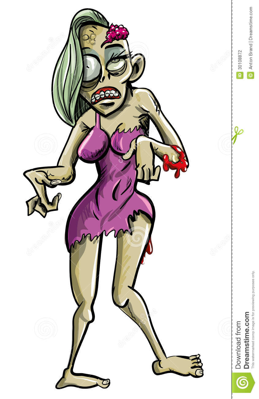 Cartoon zombie woman nude videos