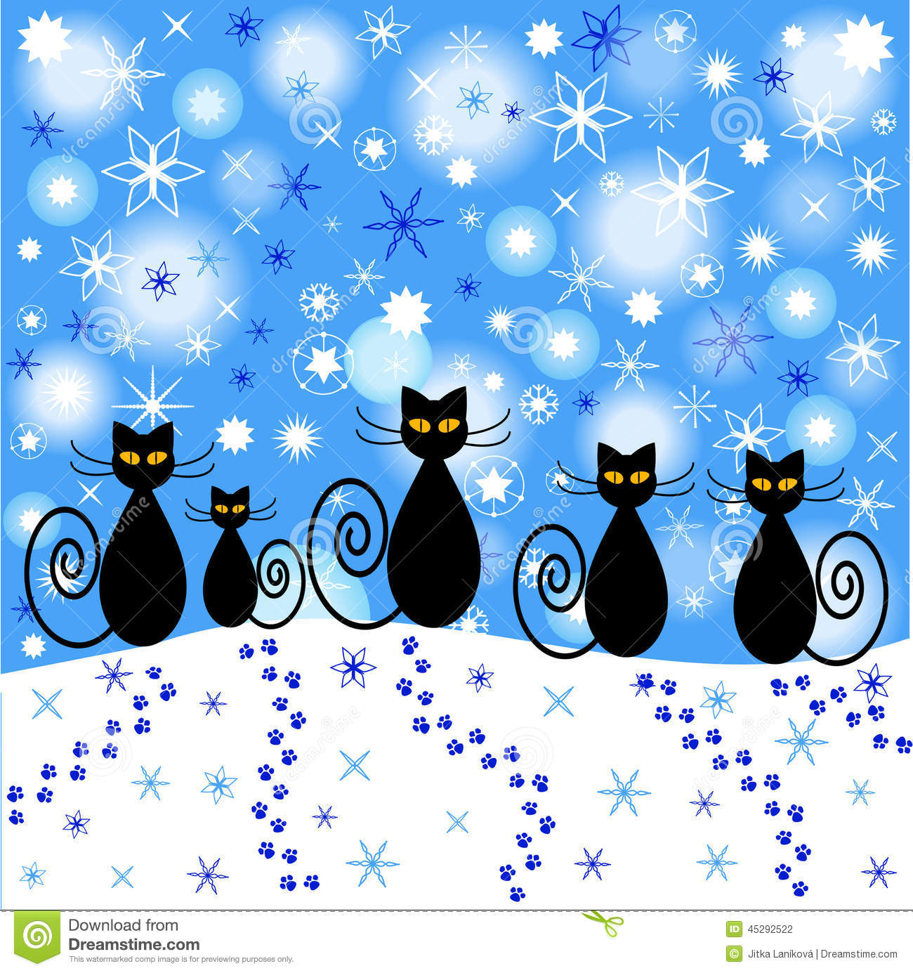 Kitten Mittens Flag - Mad About Gardening  |Winter Scenes With Cats