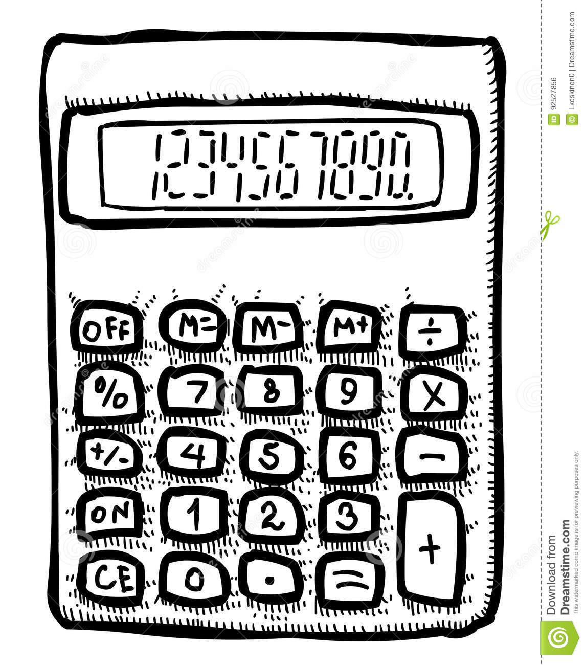 https://thumbs.dreamstime.com/z/cartoon-image-calculator-icon-mathematics-symbol-artistic-freehand-picture-92527856.jpg Math Calculator Cartoon