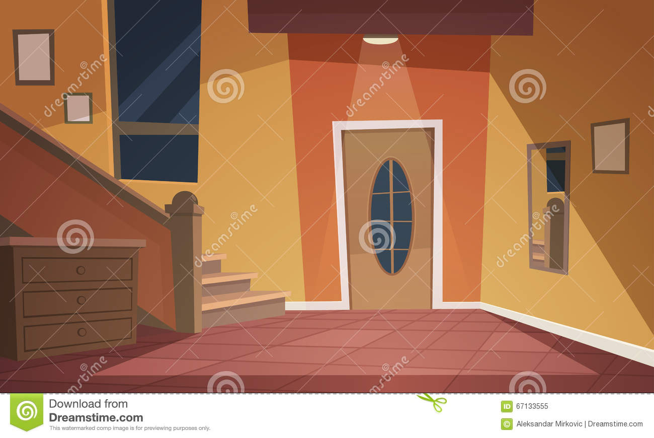 Cartoon Interior Stock Vector Image 67133555