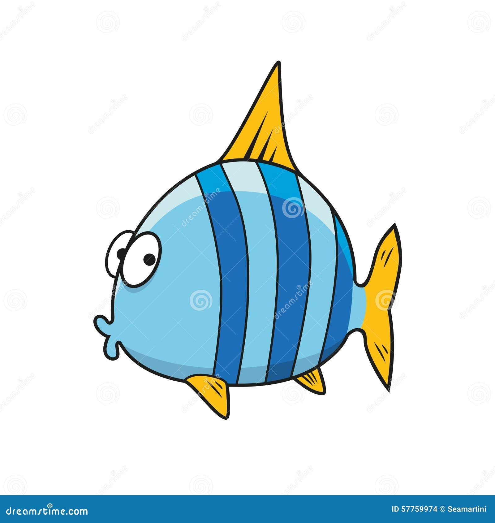 cartoon isolated blue striped fish stock vector image swordfish clip art free swordfish clipart free