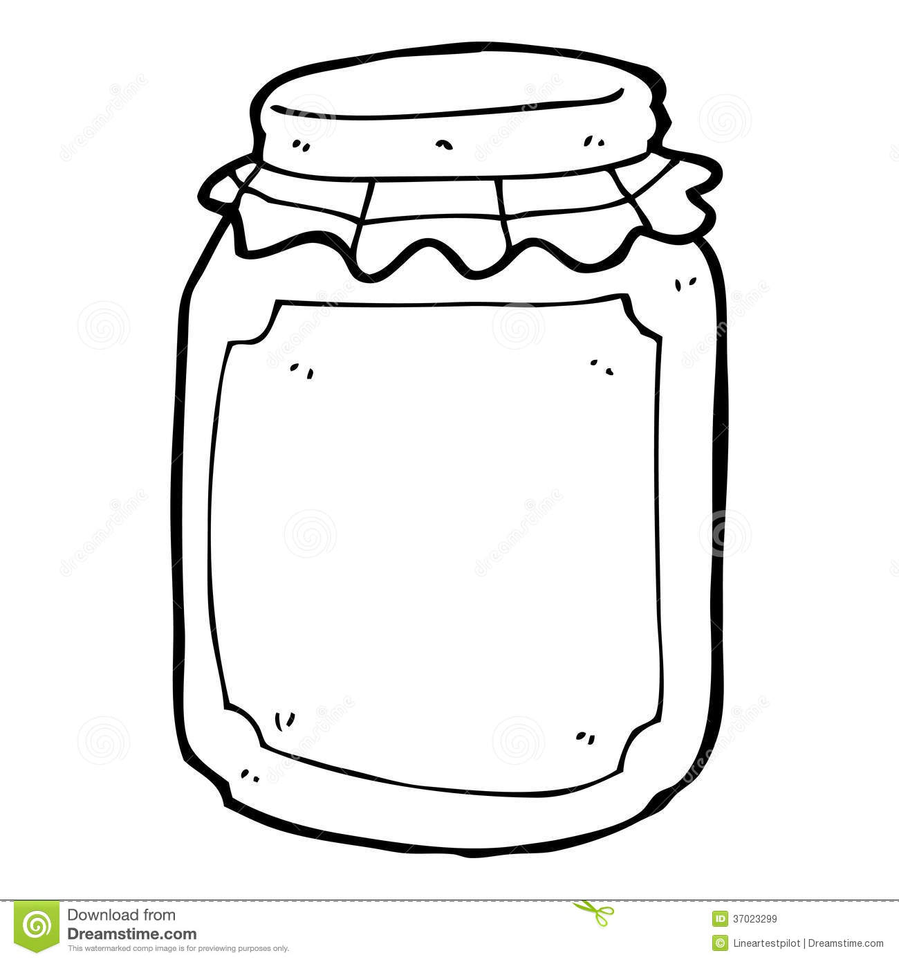 Jar Black And White Clipart | galleryhip.com - The Hippest Galleries!