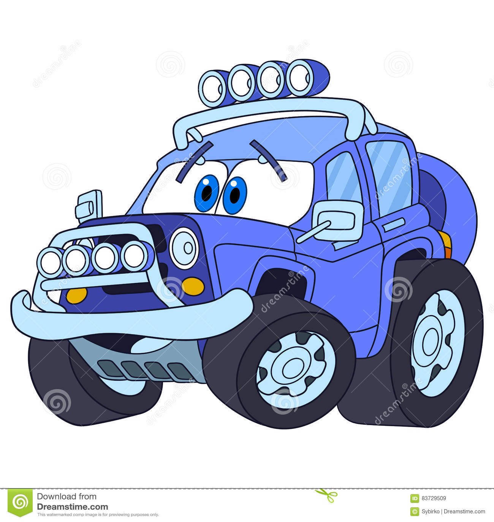 Cartoon Jeep Stock Illustrations 840 Cartoon Jeep Stock
