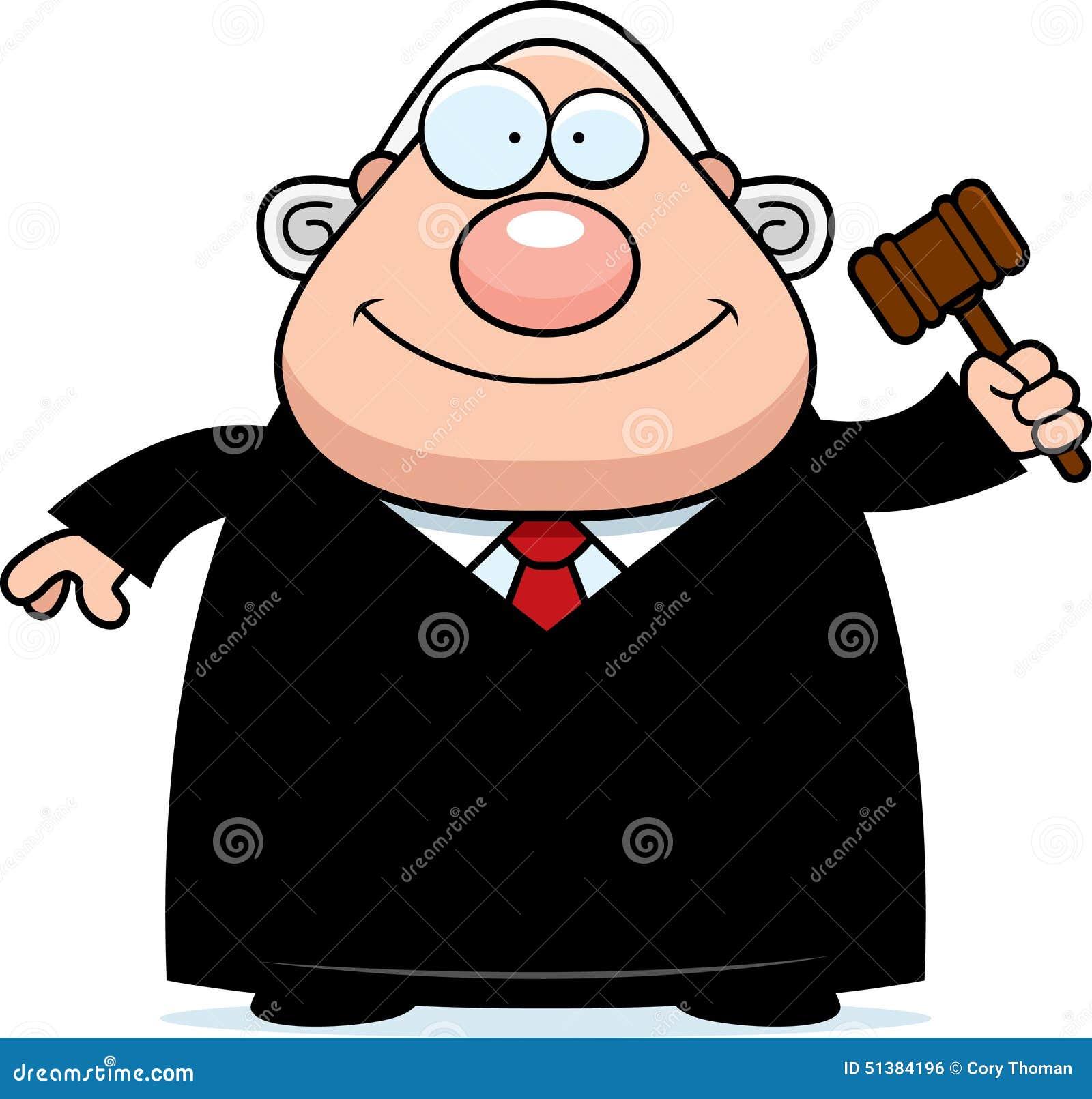 Cartoon Judge Gavel Stock Vector - Image: 51384196