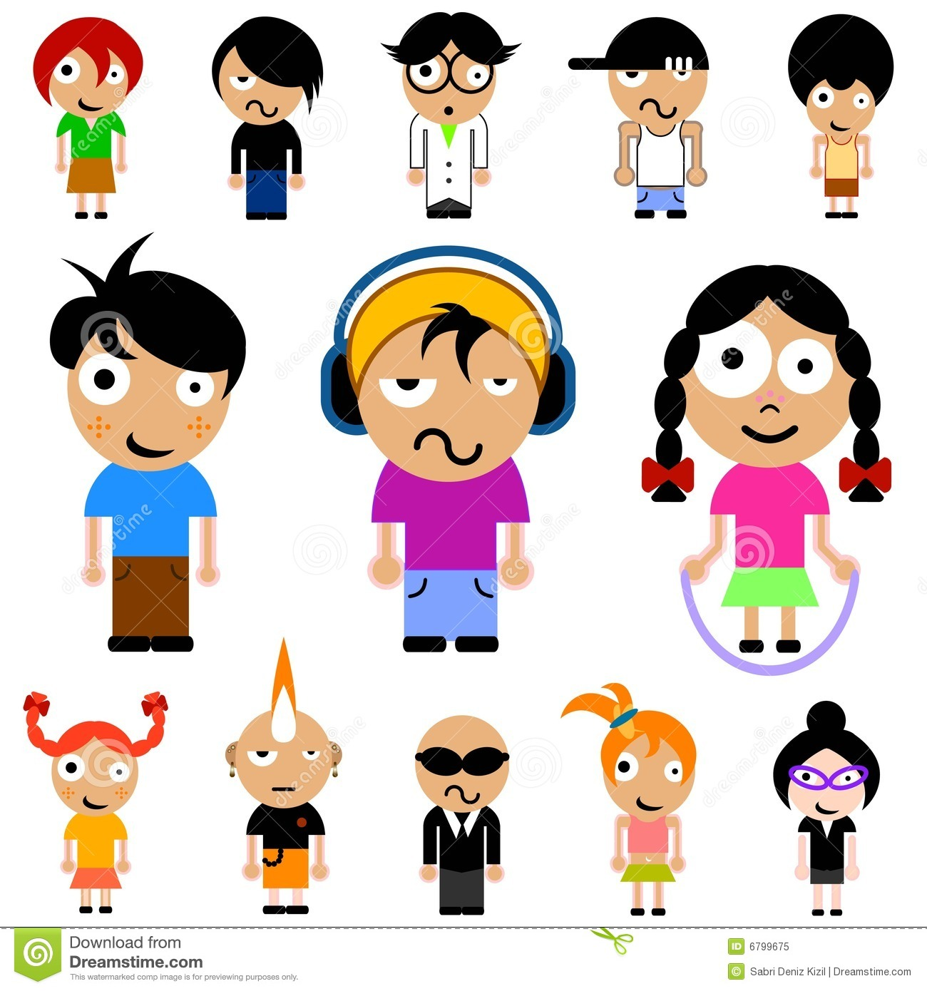 cartoon kid vector - Cartoon For Kids Download