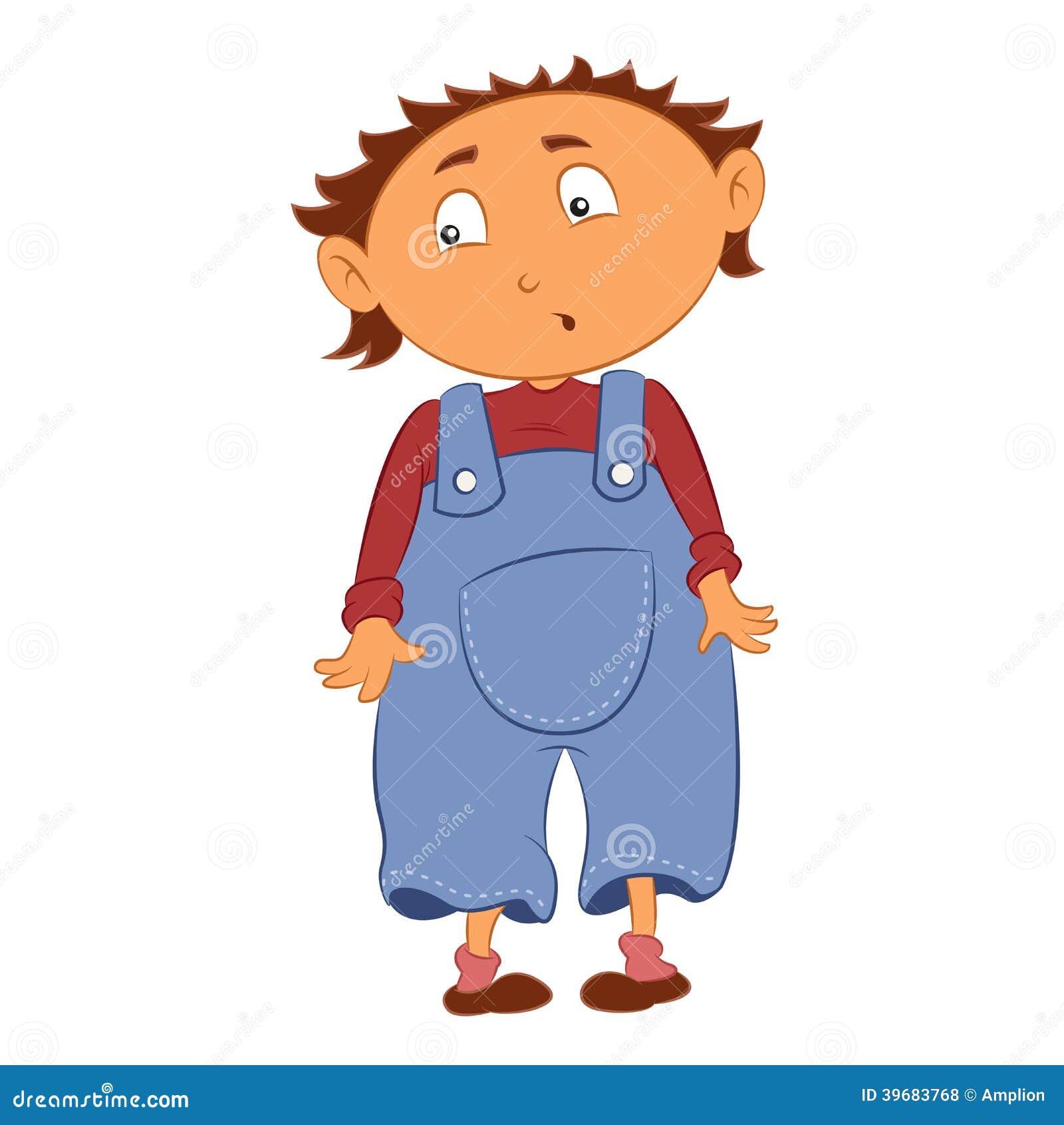 Cartoon Kid Stock Vector - Image: 39683768