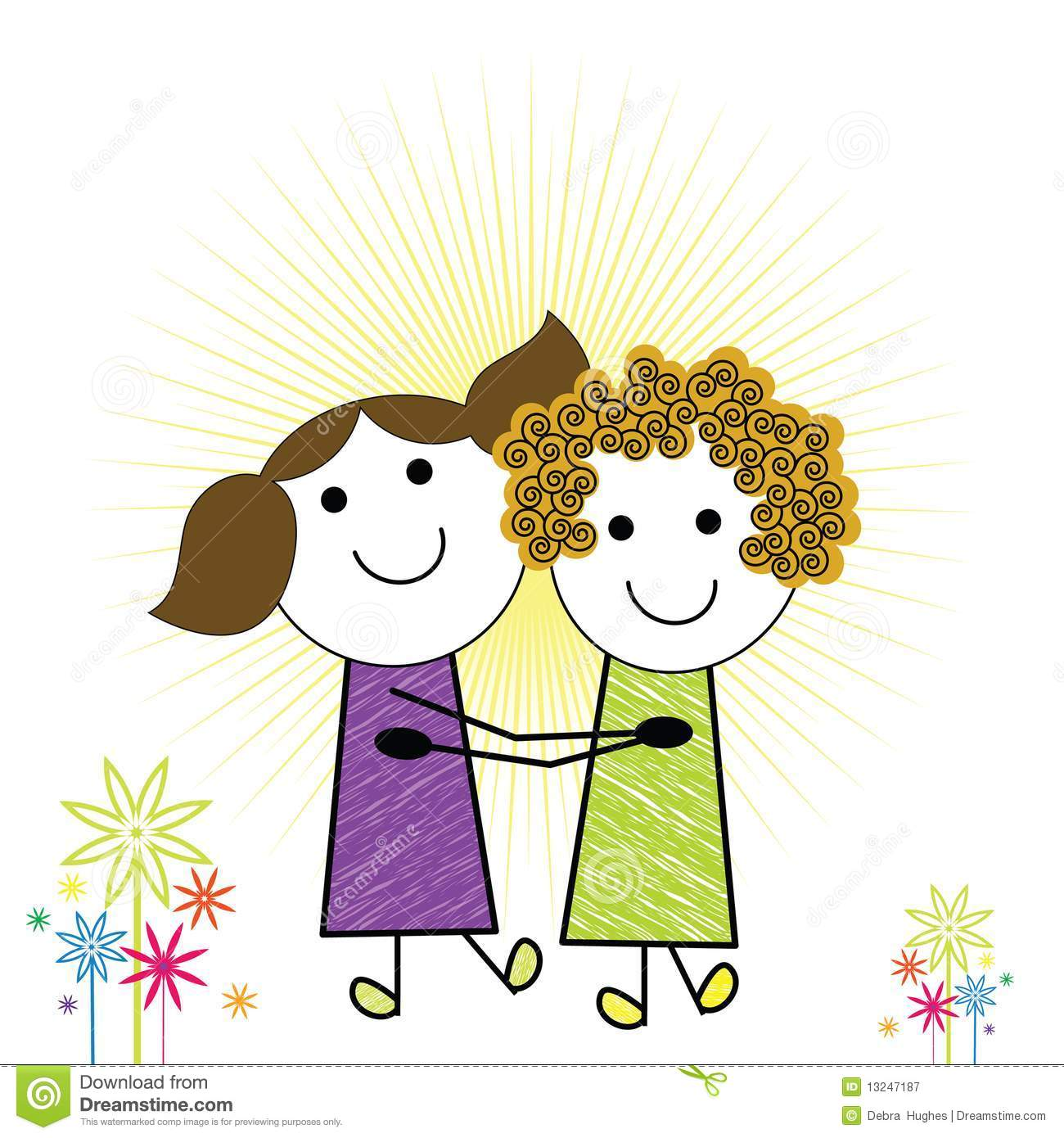 Cartoon kids royalty free stock photography image 13247187