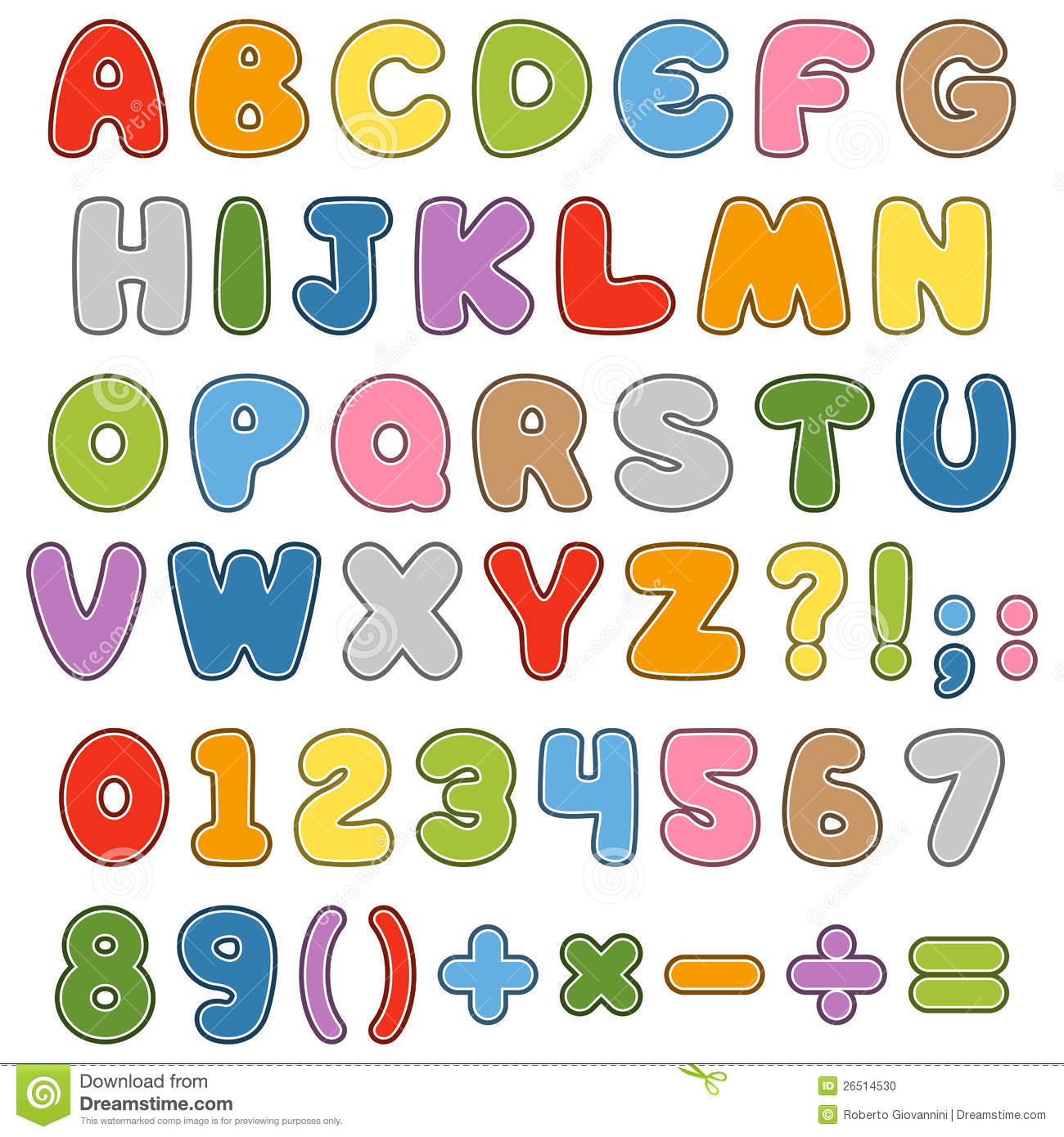 cartoon kids font - Cartoon For Kids Download