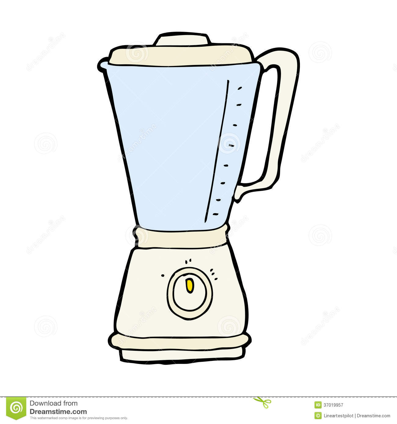 Cartoon Kitchen Blender Royalty Free Stock Photography - Image ...